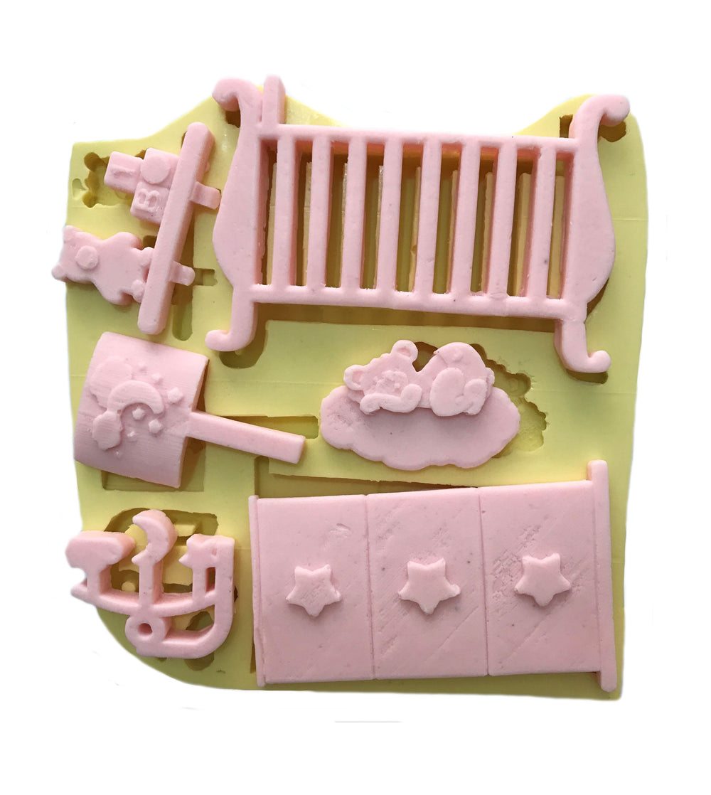 Silikon Baby Accessoires Formen-3