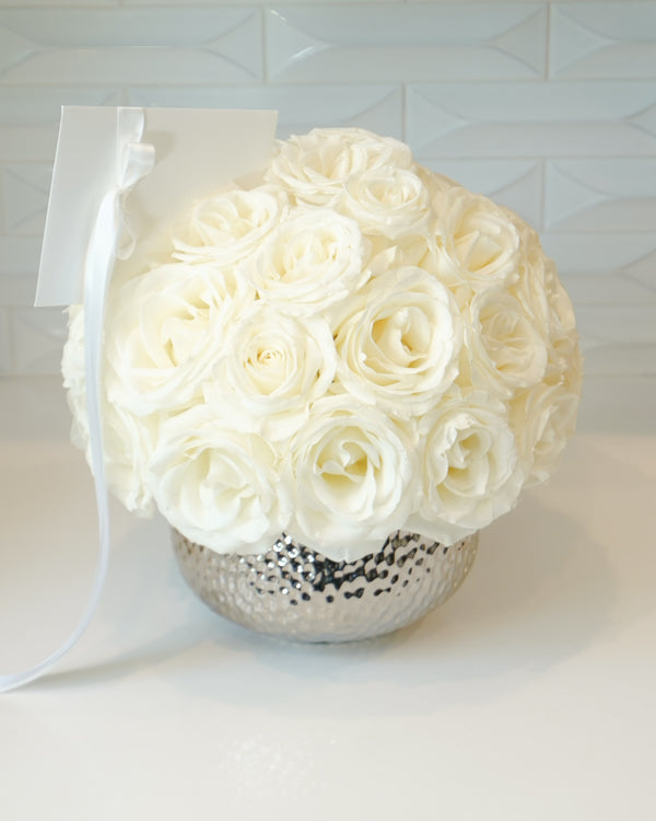 White Polar Star Roses