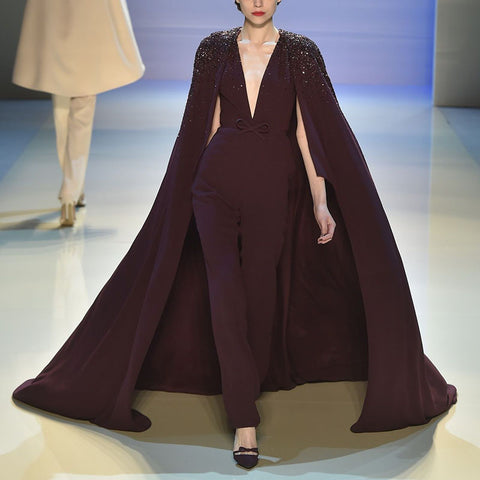 Fashion Personality Stage Cloak Dress