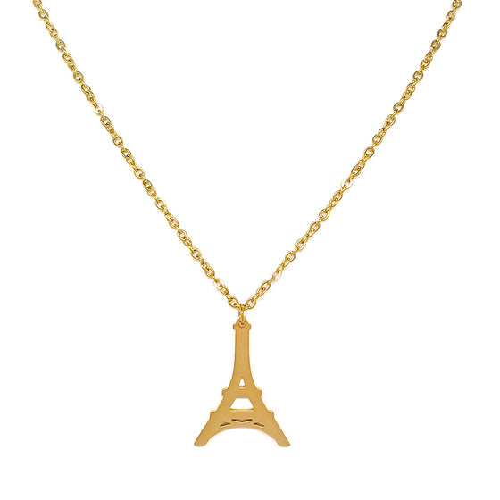 Eiffel Tower Chain Necklace