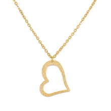 Load image into Gallery viewer, Fine Heart Necklace