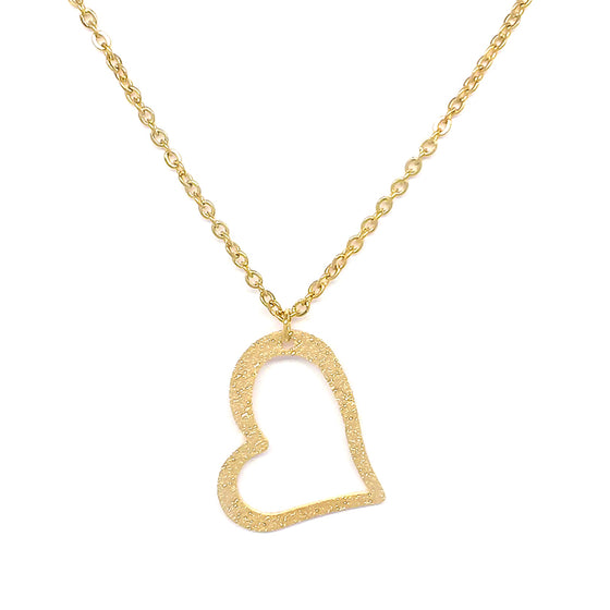 Fine Heart Necklace