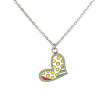 Load image into Gallery viewer, Multicolor Heart Necklace