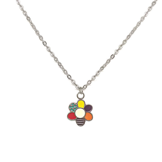 Multicolor Flower Necklace