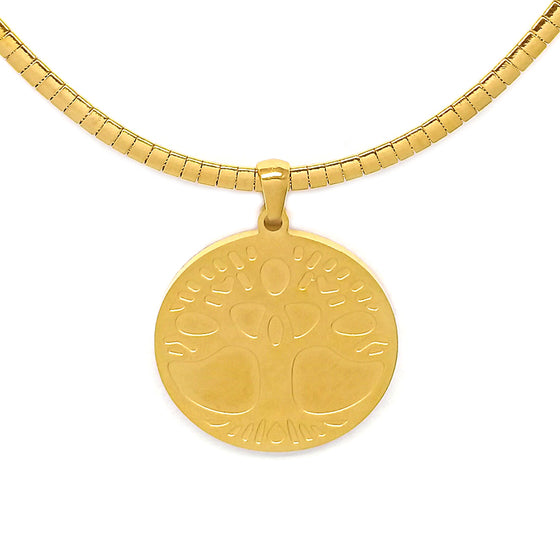 Gold Tree of Life Necklace