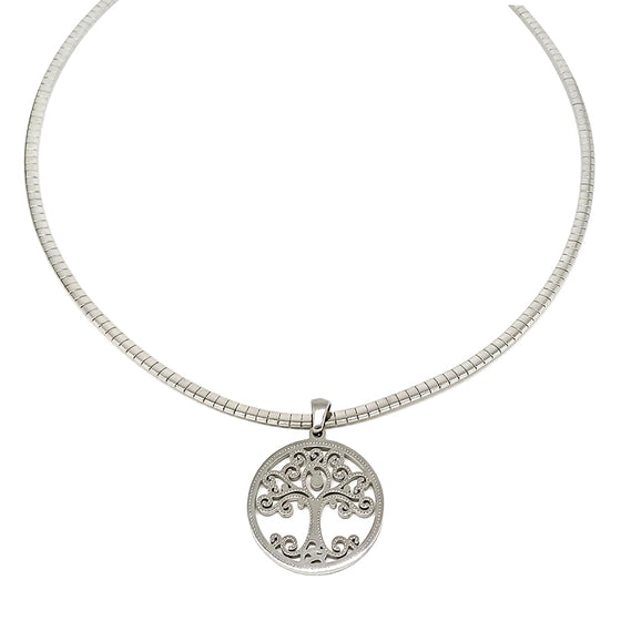 Tree of Life Omega Necklace