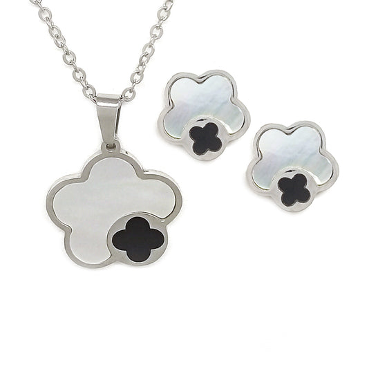 Black & White Flower Set