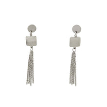 Load image into Gallery viewer, Dangle Chain Earrings