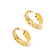 Load image into Gallery viewer, Elegant Gold Hoop Earrings