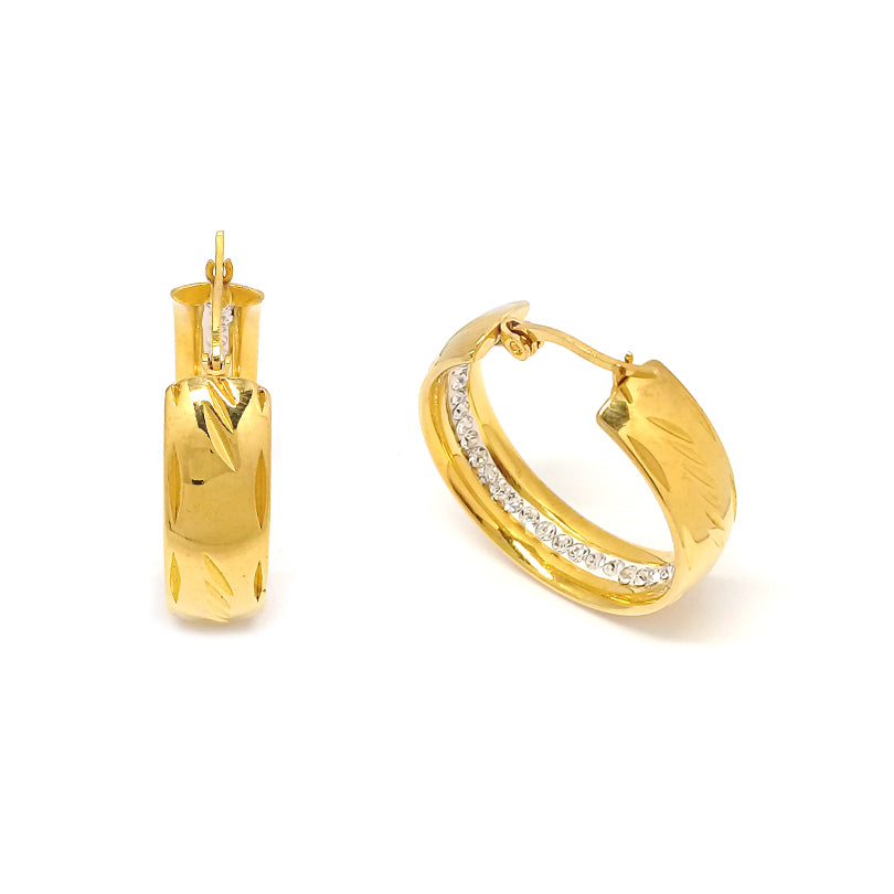 Elegant Gold Hoop Earrings