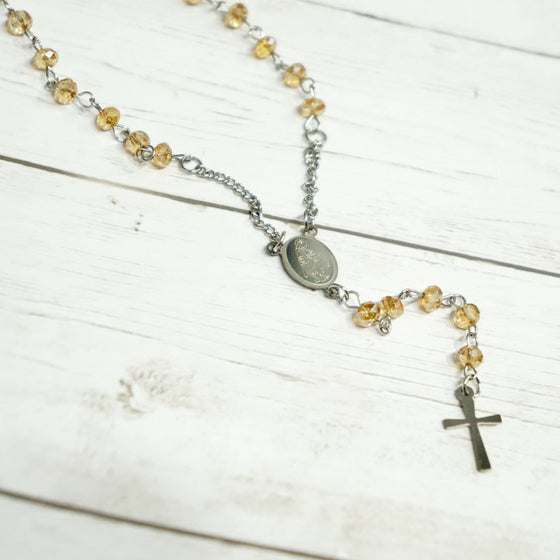 Crystals Rosary Chain