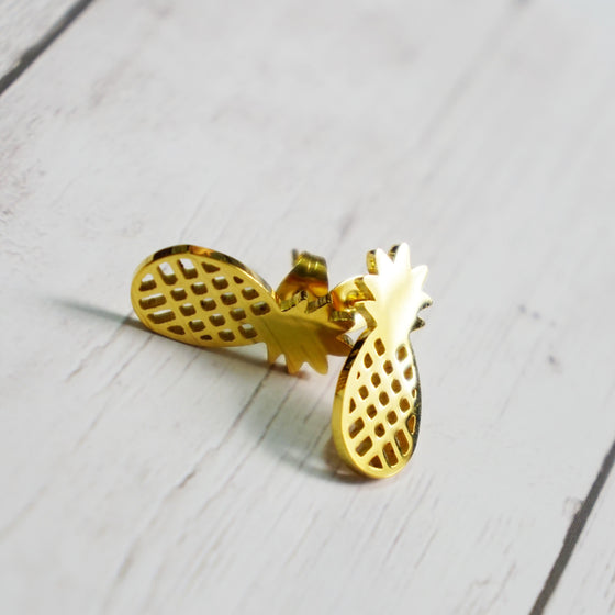 Gold Pineapple Set