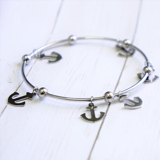 Multi Anchor Bracelet