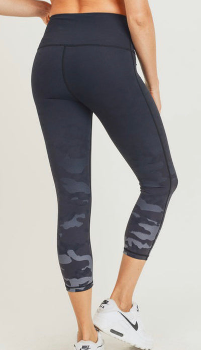 Camo Ombré Highwaist Leggings