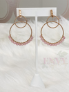 Double O Dangle Earrings