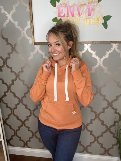 Fall for you hoodie (Carmel)