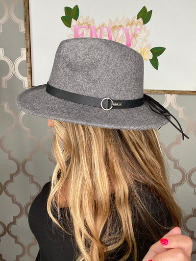 Autumn Feels Hat (Grey) (FINAL SALE)