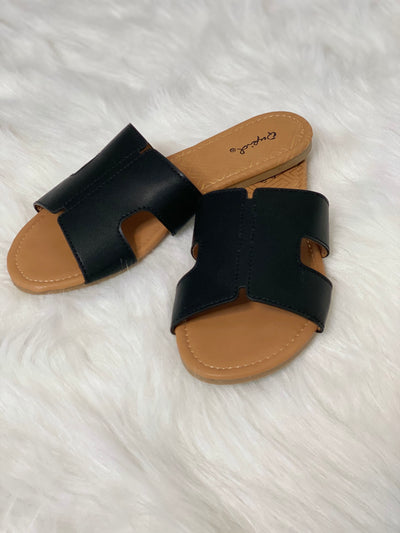 Simply Summer Sandals - Black FINAL SALE