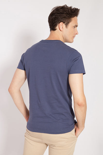 Camiseta VINTAGE URBAN Azul denim
