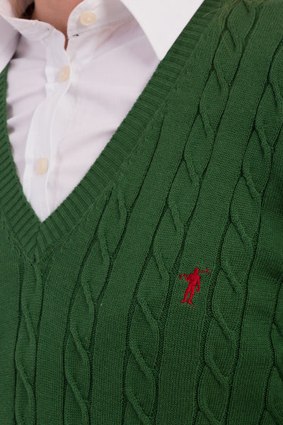Polo Club Jersey MISS RIGBY verde oscuro JERSEIS