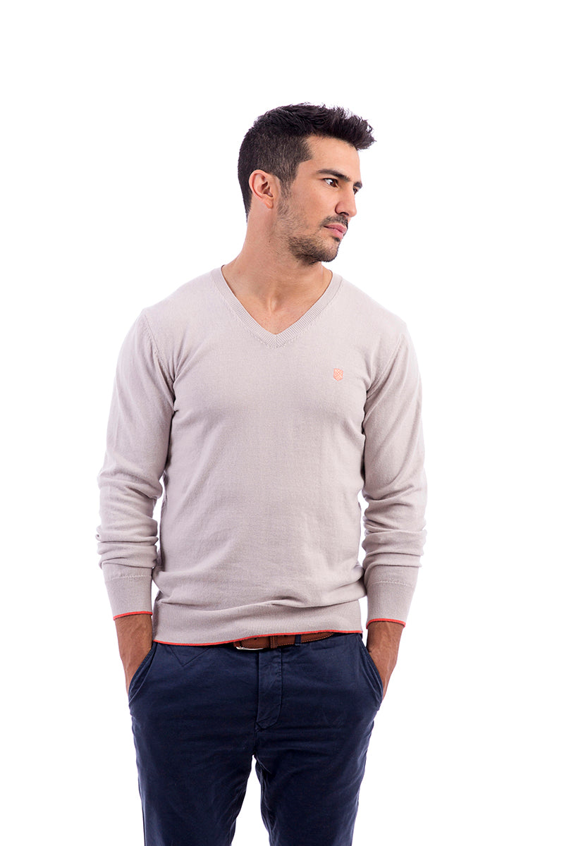Jersey gris Gentle V Light