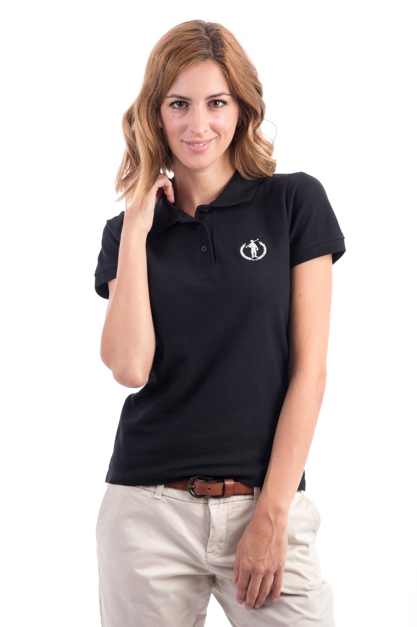 Polo negro Original Small Player Sra Mc