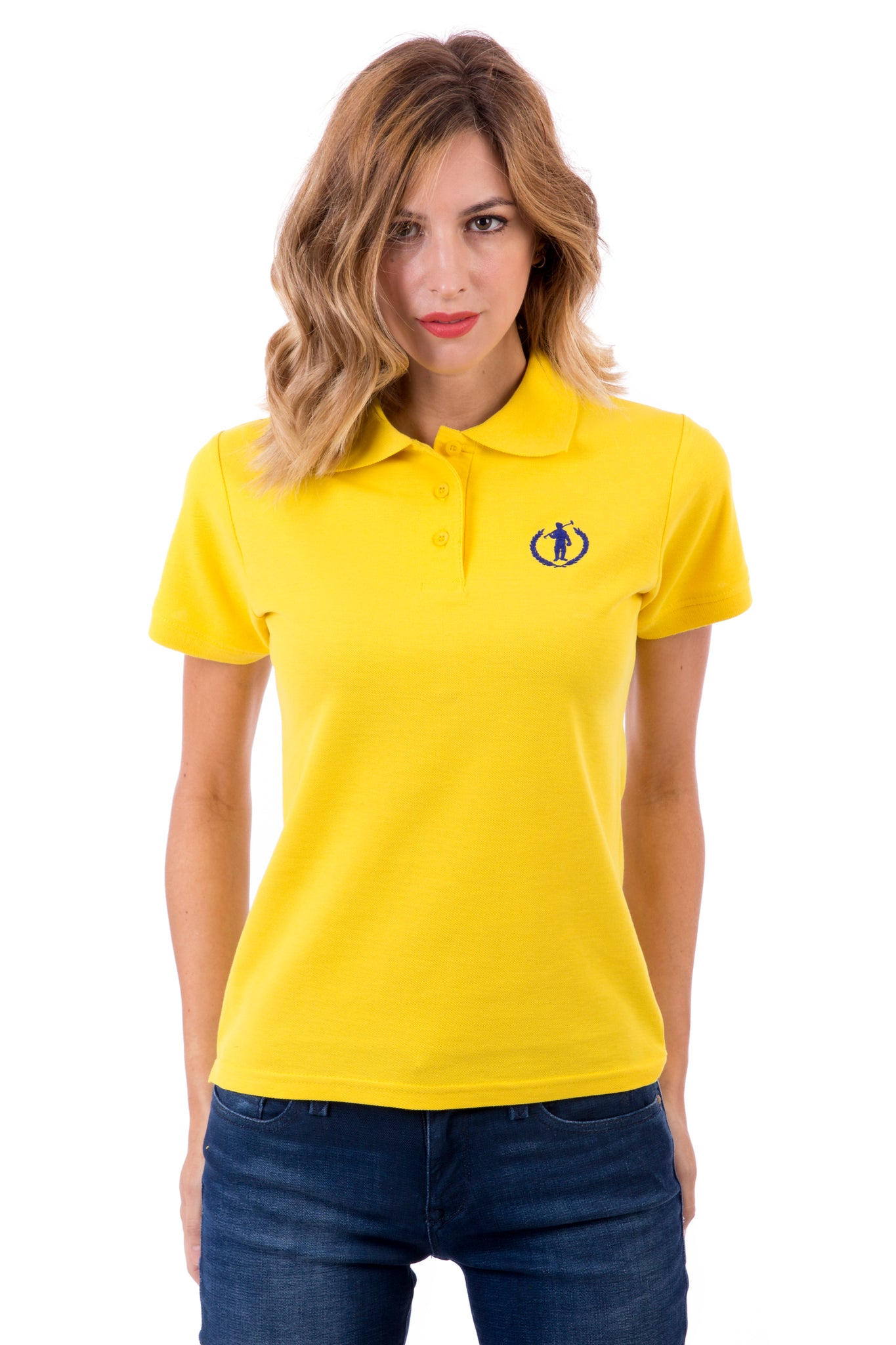 Polo Amarillo Original Small Player Sra Mc