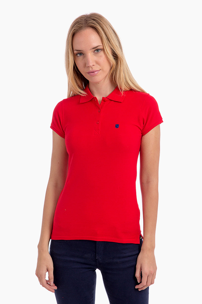Polo Rojo Miss Pure