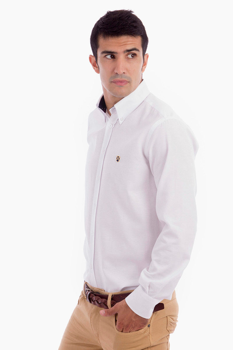 Polo Club Camisa GENTLE SIR OXFORD blanco CAMISAS