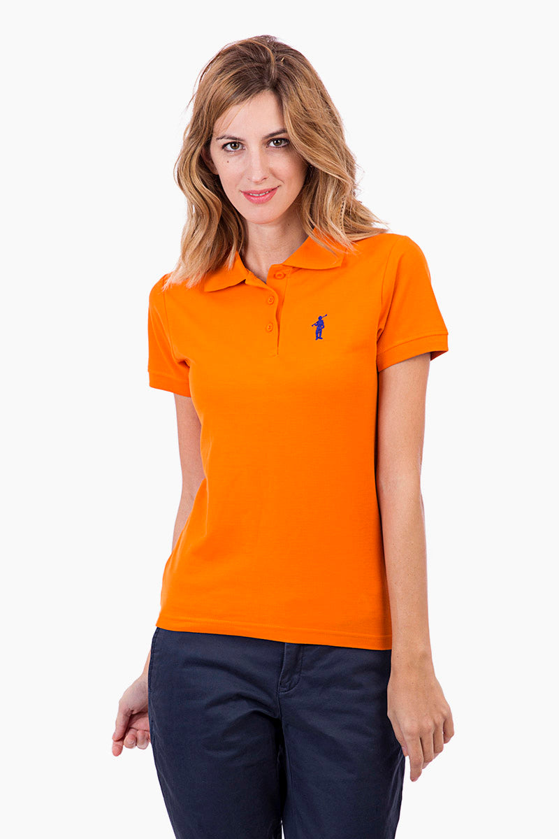 Polo naranja Original Small Rigby