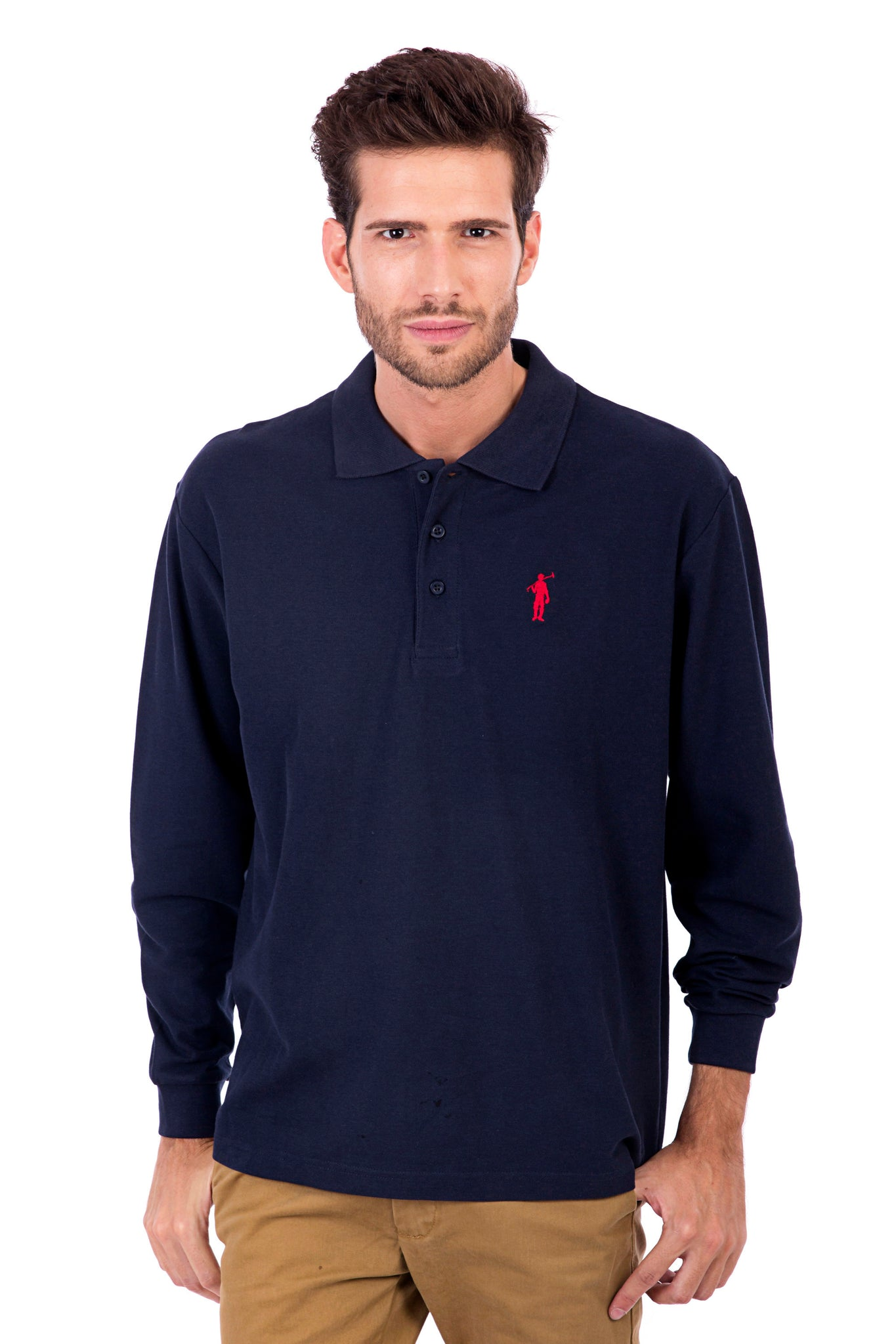 Polo azul marino Original Small Rigby
