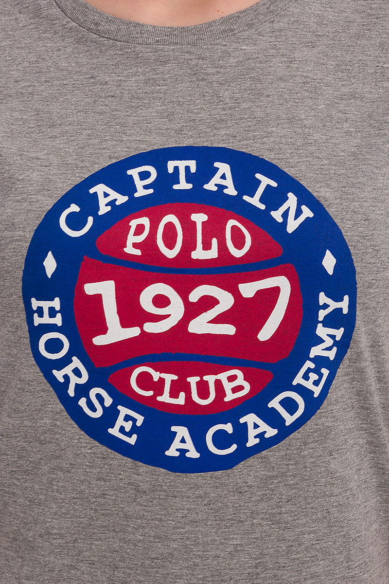 Polo Club Camiseta BASEBALL gris CAMISETAS