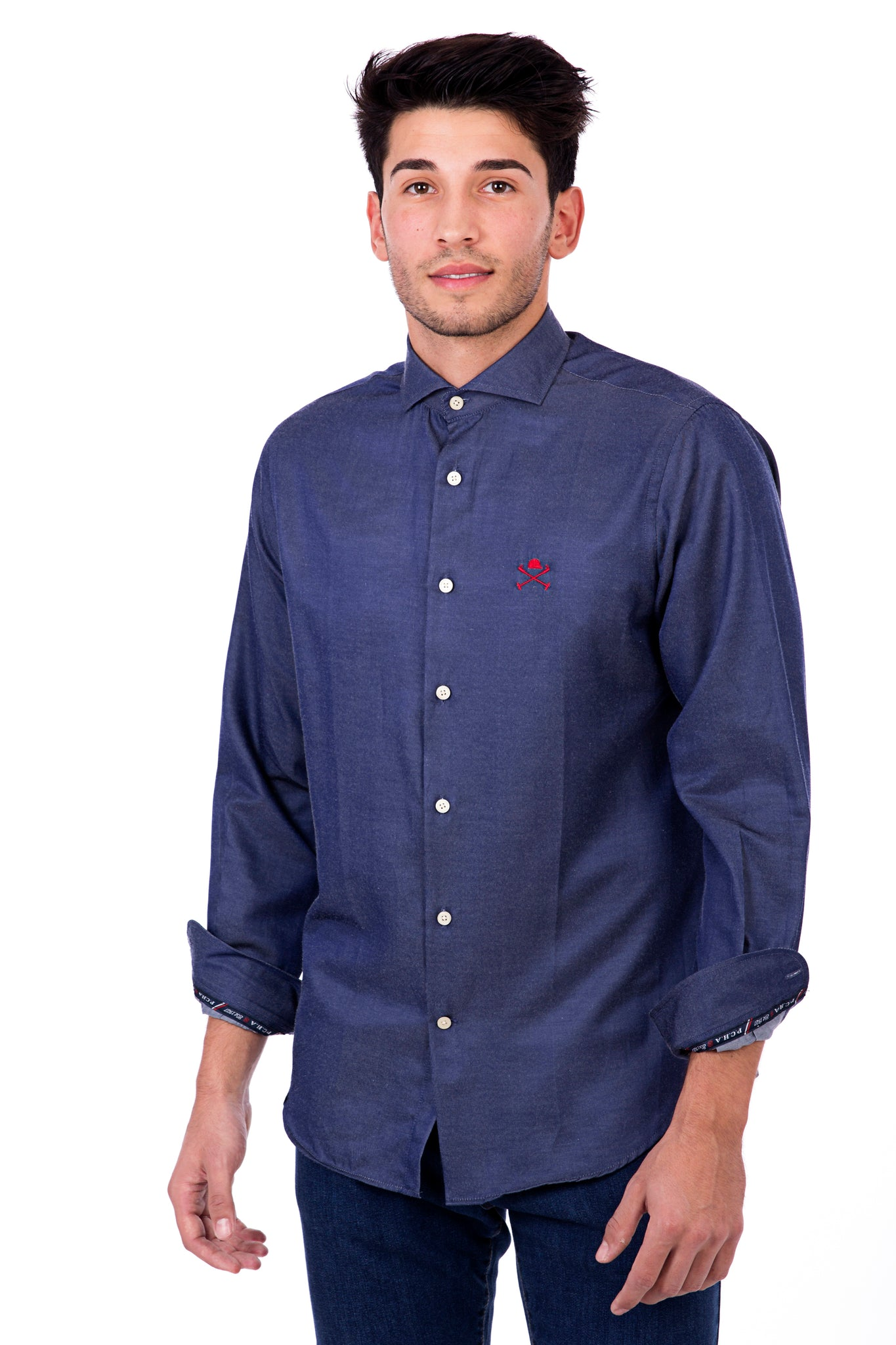 Camisa MAVERICK SLIM denim