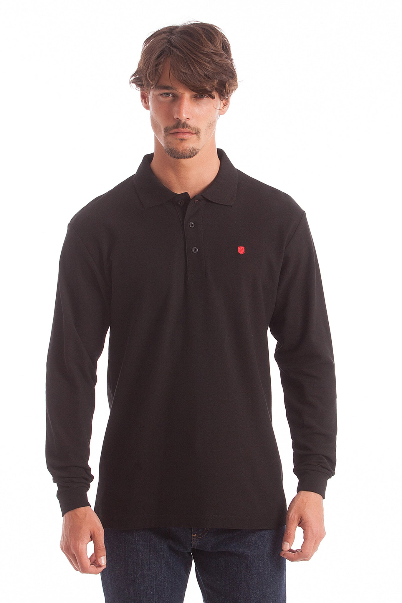 Polo GENTLE PURE negro