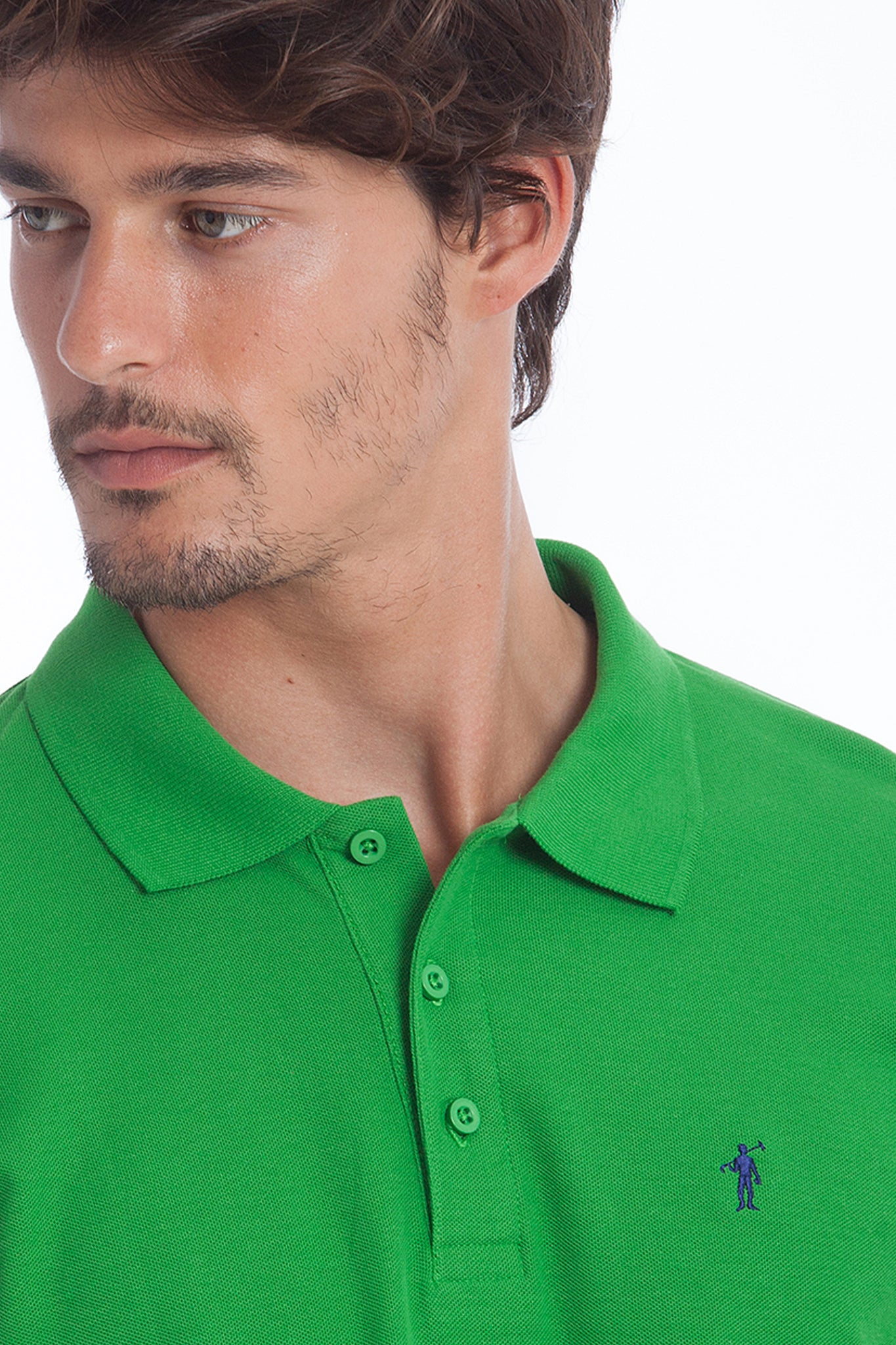 Polo ORIGINAL MINI RIGBY verde grass