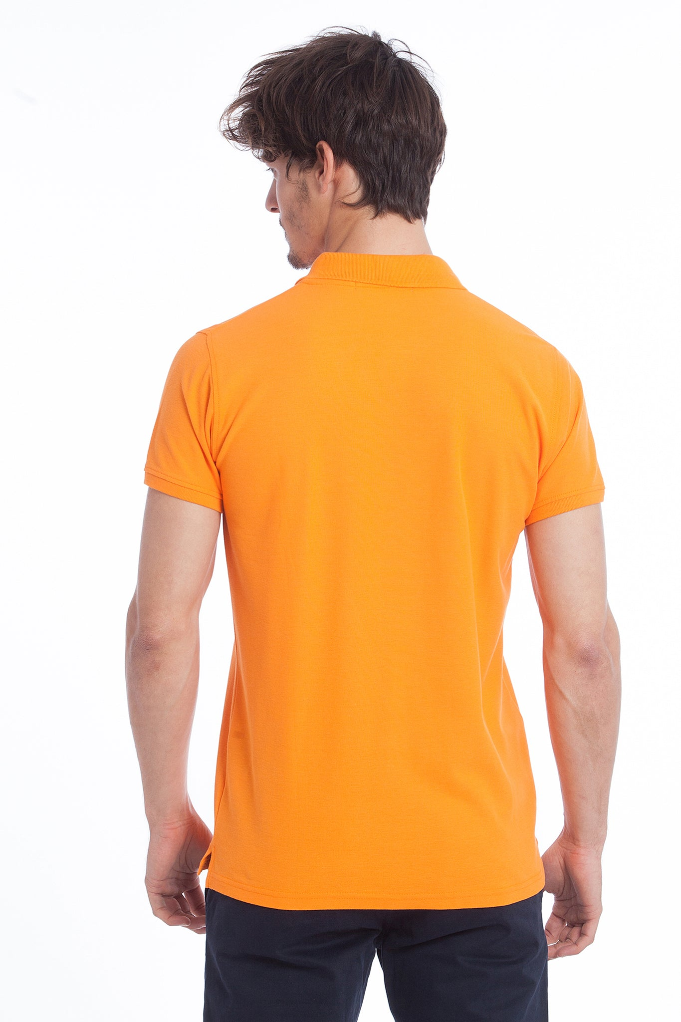 Polo naranja Gentle Pure