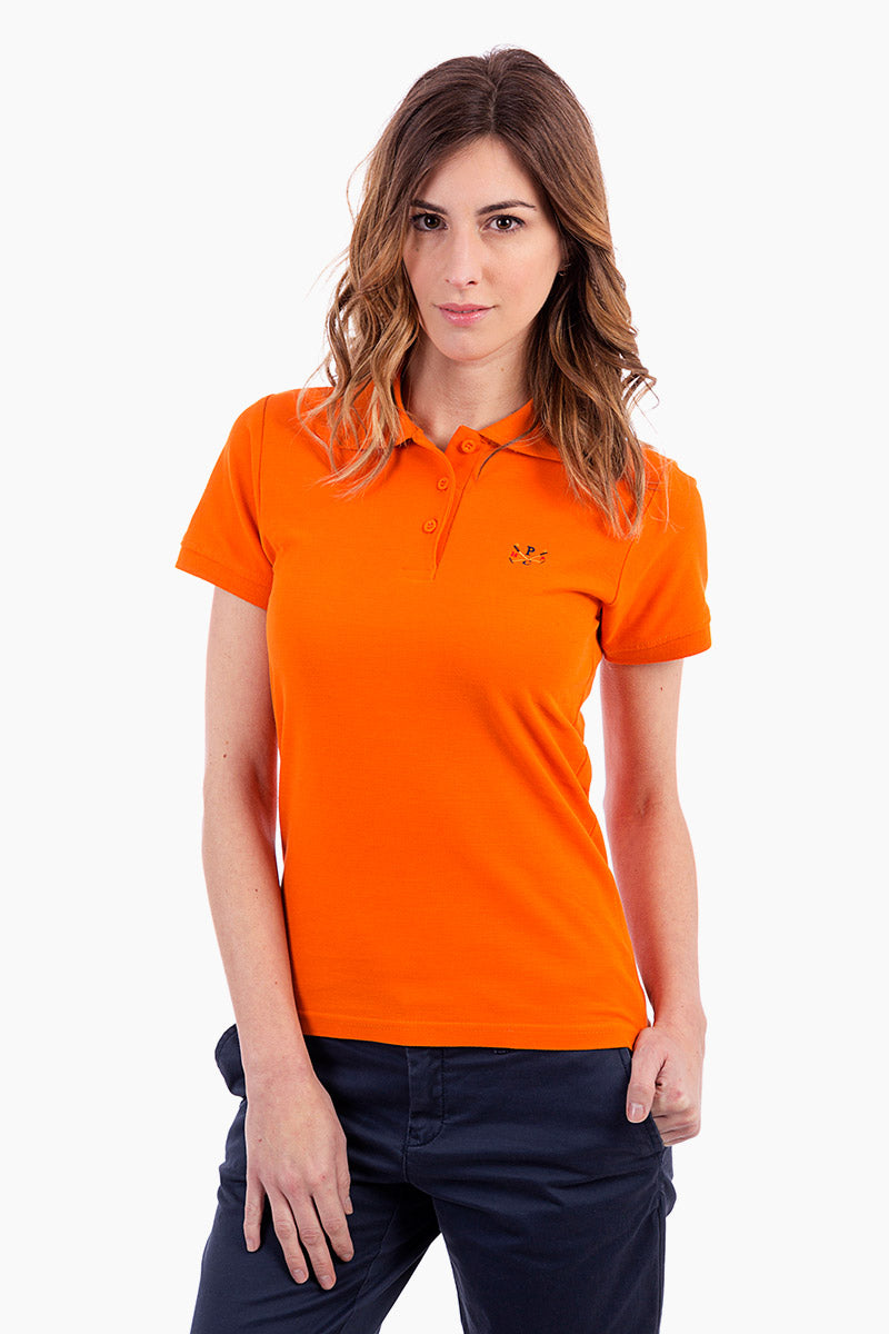 Polo naranja Sticks
