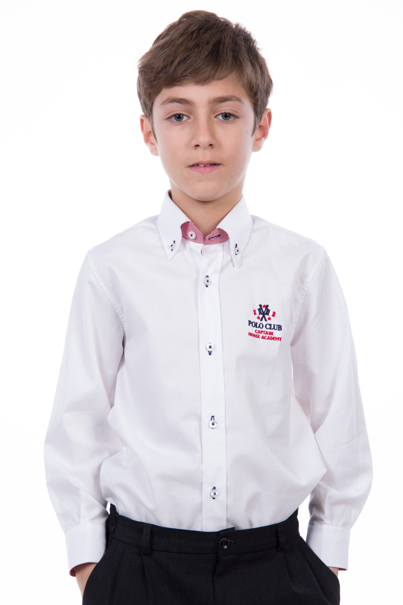 Camisa Blanco Basic Flag