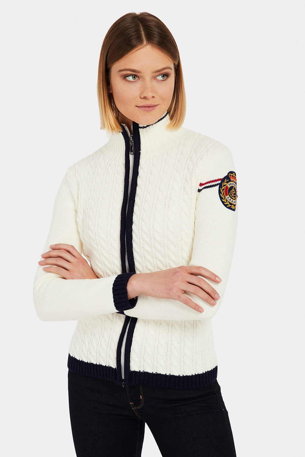 Cardigan NAUTIC 1927 crudo