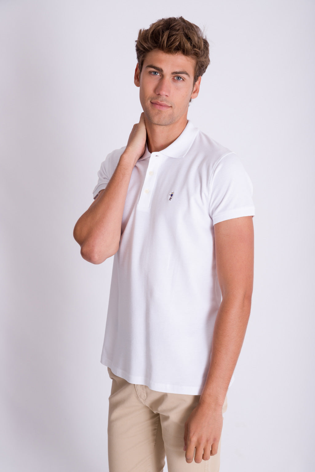 Polo MINI RIGBY COLOR Blanco