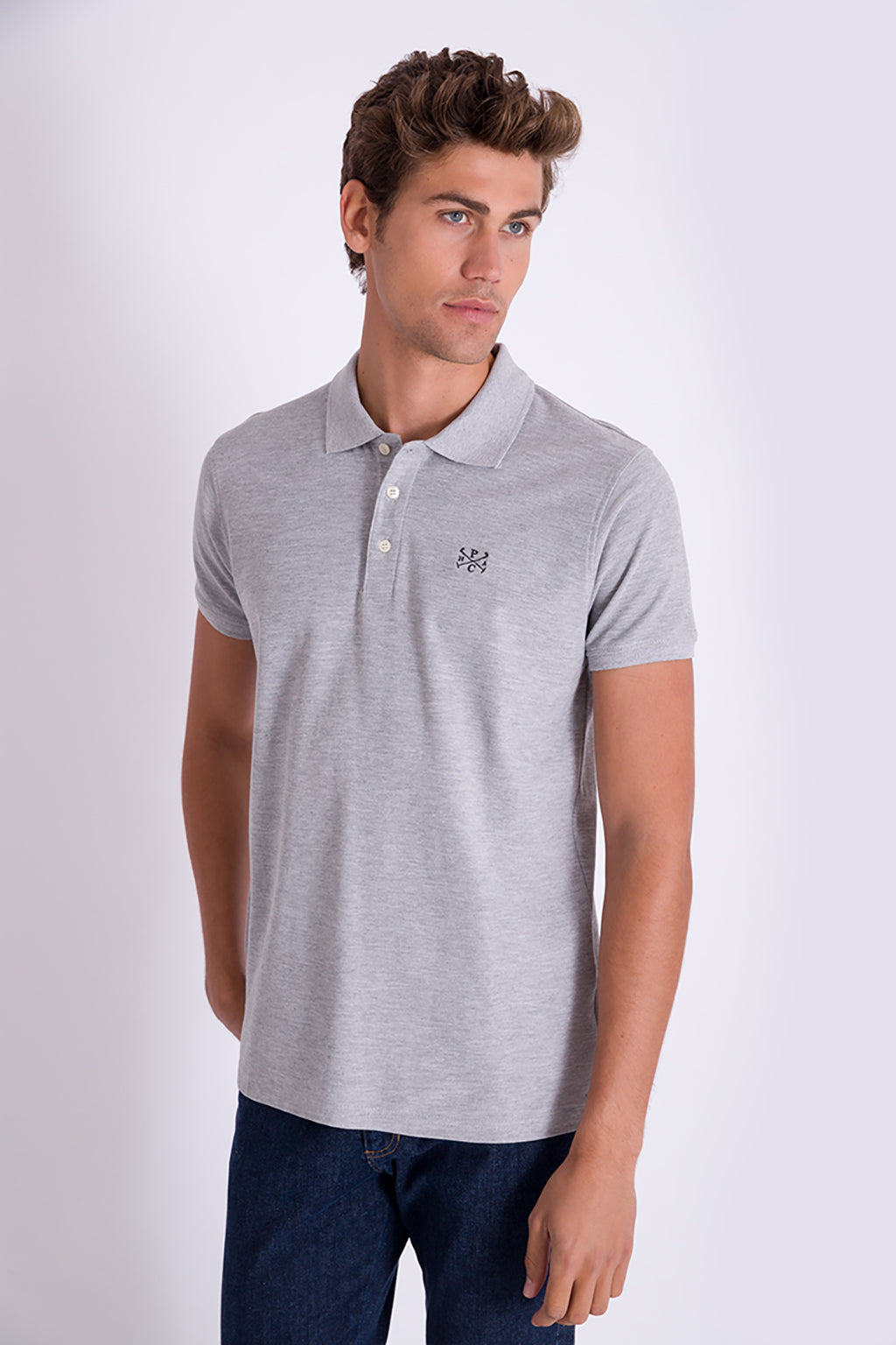 Polo STICKS Gris