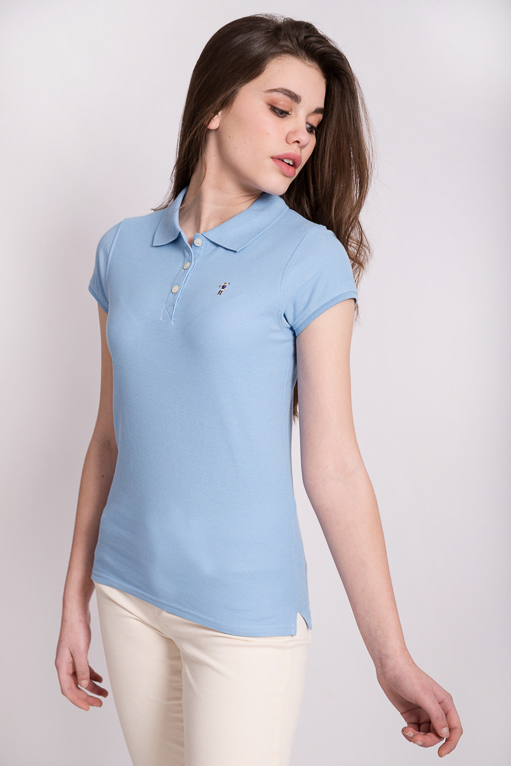 Polo MINI RIGBY COLOR Azul celeste