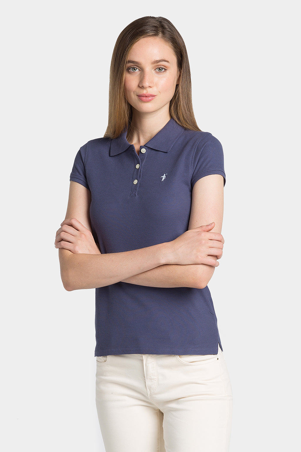 Polo Azul Denim Mini Rigby