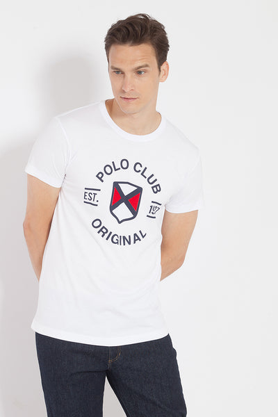 Camiseta TOMS CIRCLE Blanco