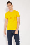 Camiseta CIRCLE HELMET Amarillo