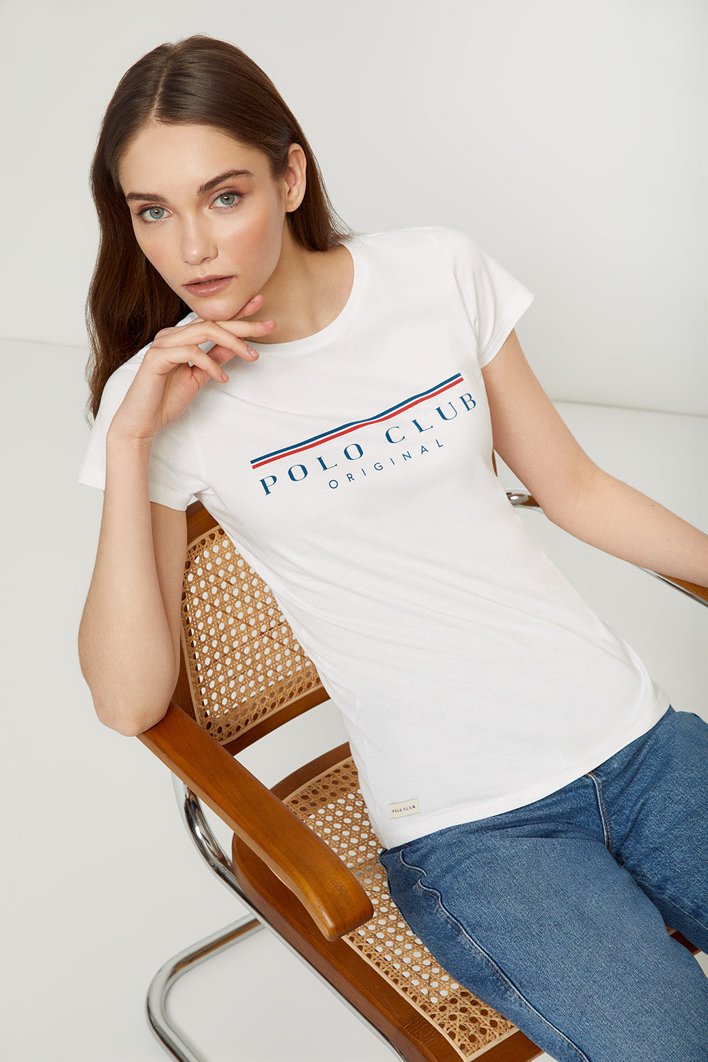 Camiseta POLO TITLE blanco