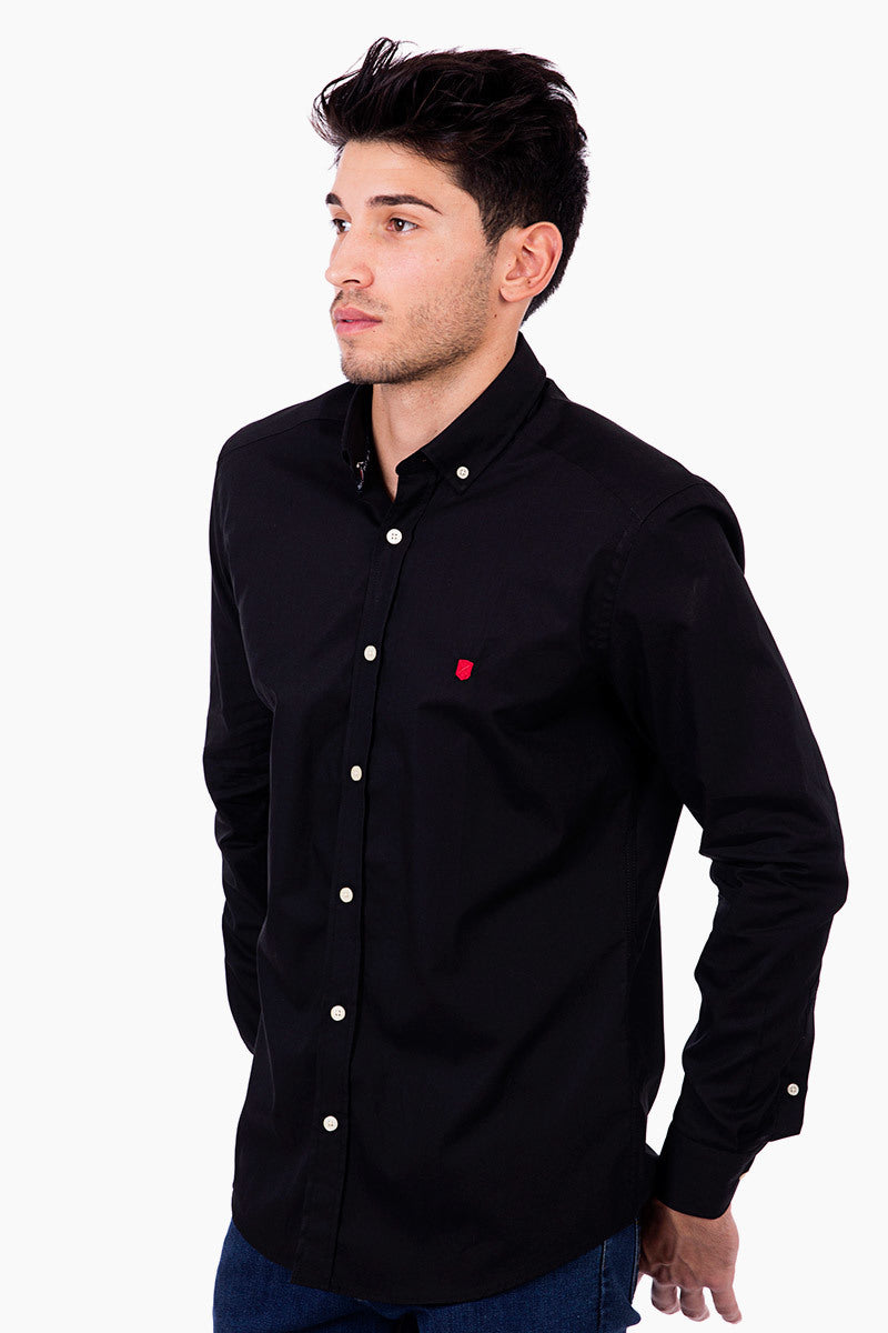 Polo Club Camisa GENTLE PURE negro CAMISAS