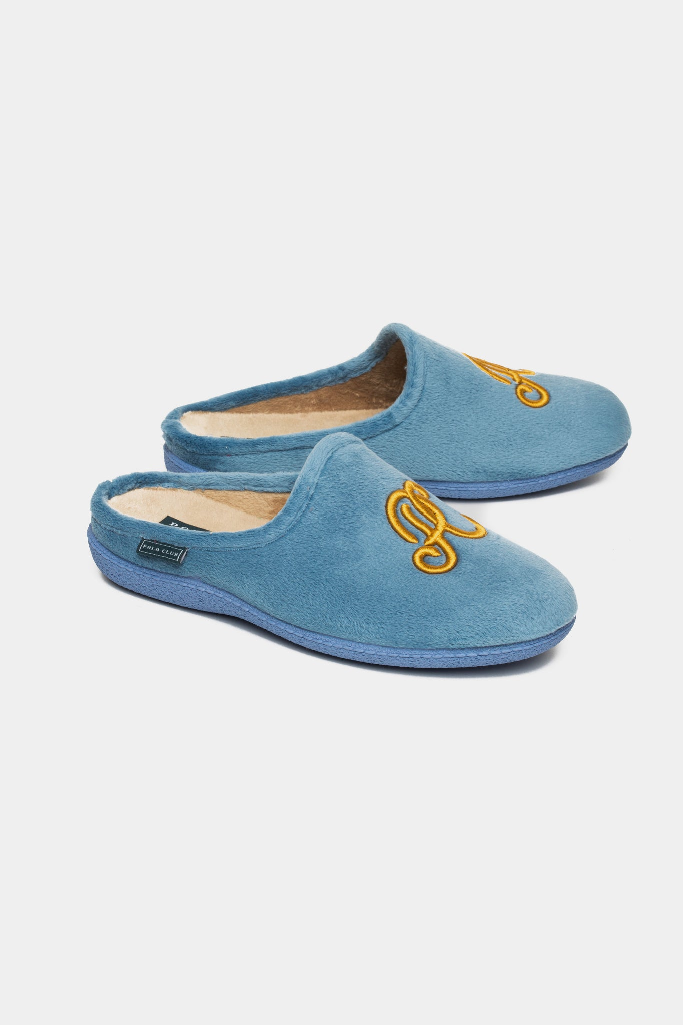 Zapatillas de casa MONOGRAM Azul Denim