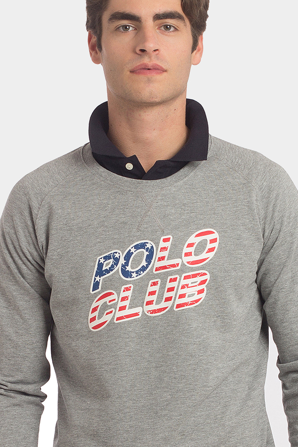 Sudadera PC FLAG Gris
