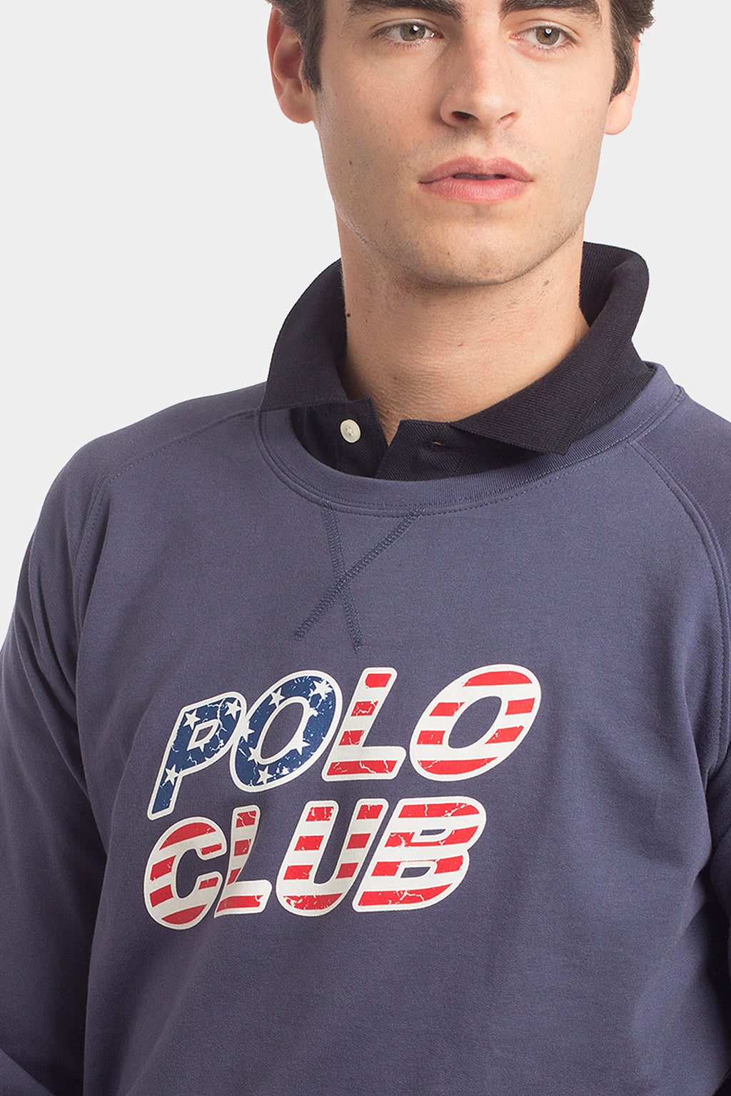 Sudadera PC FLAG Azul denim